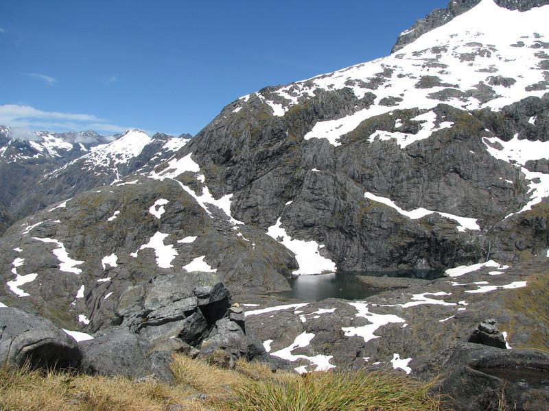 Black Lake below Mt Talbot.