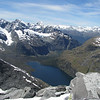 Lake Adelaide. Mt Aspiring in the far distance on the right.