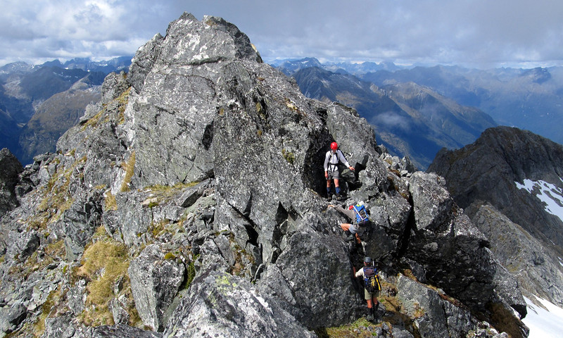 Summit ridge of 1785 m.