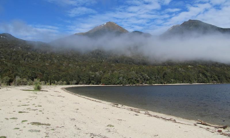 Lake Manapouri at Hope Arm.