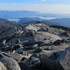 Looking down the North Ridge of Mt Titiroa.