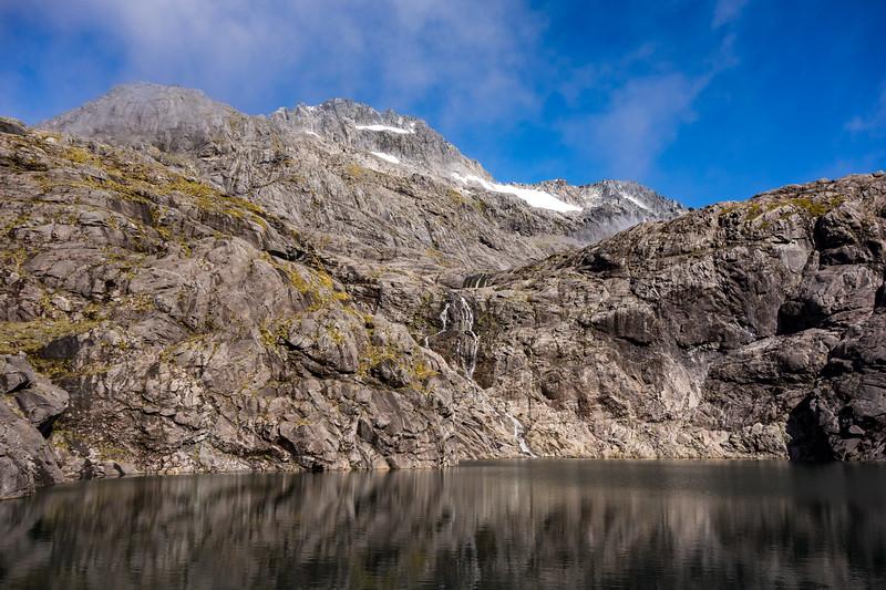 Mt Talbot above Black Lake.