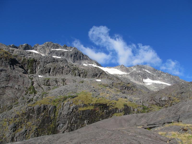 Mt Talbot and Traverse Pass.