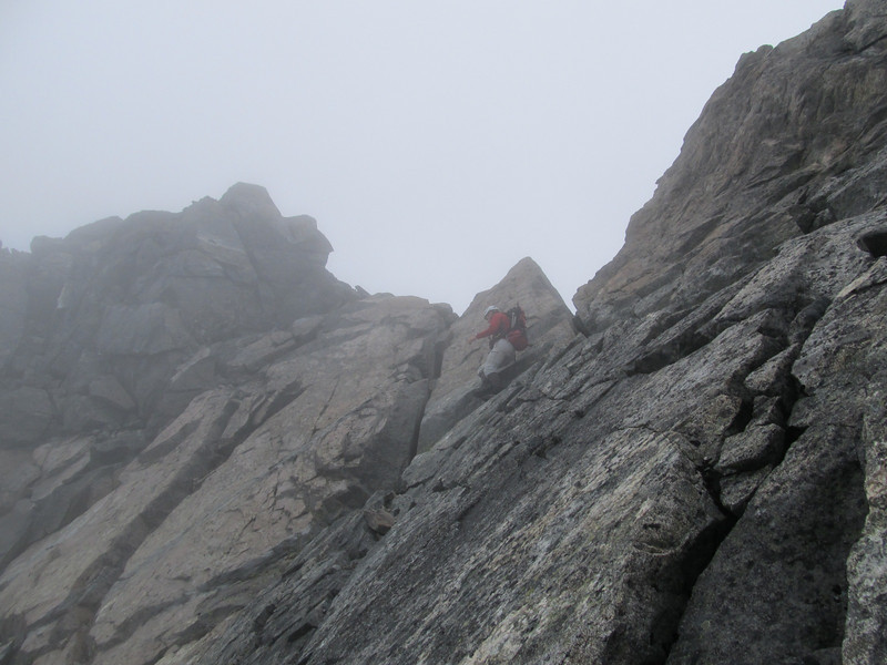 North Ridge of Mt Talbot.