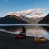 Day 2: Early start to take advantage of a calm Lake Te Anau.