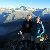 Me and Marta on the summit.