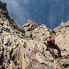 On the NW ridge of Strauchon.