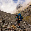 Glimpses of Abseil Peak (photo - James Thornton).