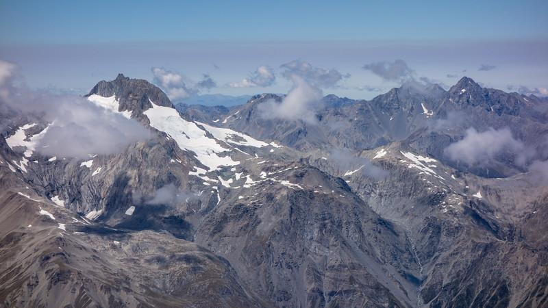 Mt Ward, Glenisla, Glencairn, Glenmary and Dasler Pinnacles