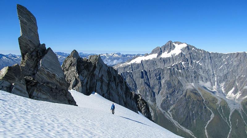Tops travel to Mathers Peak (photo - James Thornton).