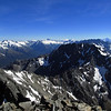 View of Mt Calvin from Mt Barth.