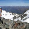 Me on the summit of Mt Barth.