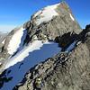 On the East Ridge of Mt Barth, false summit above.