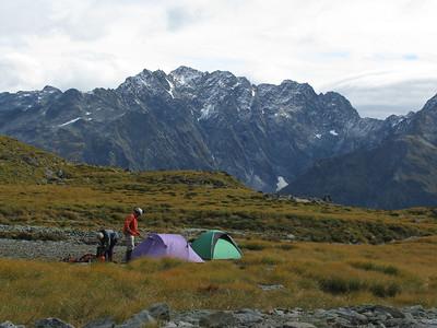 Mt Glencairn, 17-18 April 2010