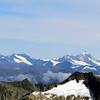 Earnslaw, Rob Roy, Mt Avalanche and Aspiring.