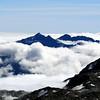 Shattered Peak, Weary Summit and Monro Peak.