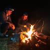 Another cracker fire beside Dodger Stream.