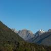 Mt Hooker behind the Strachan Range from Thomas Condon's farm.