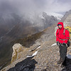 McCardell Glacier and Mt Dechen behind James.