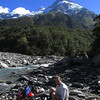 Looking up Elcho Stream towards Mt Jackson.
