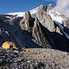 Camp below Mt Hooker.