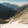 Descending into the Elcho (photo - James Thornton).