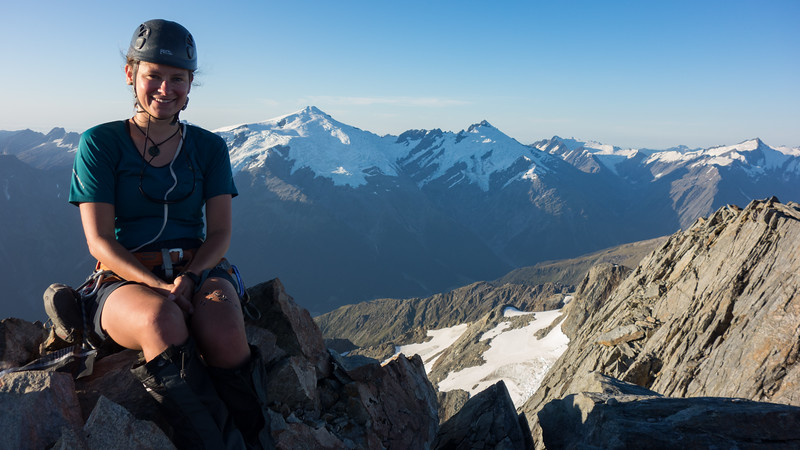 Me on the summit of Jackson (photo - James Thornton).