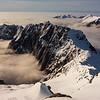 Millington Peak between the Valley of Darkness and the Otoko (photo - James Thornton).