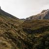 Towards McCullaugh Pass and Douglas Spur.
