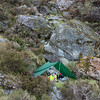 Our fly camp in Bunker Creek.