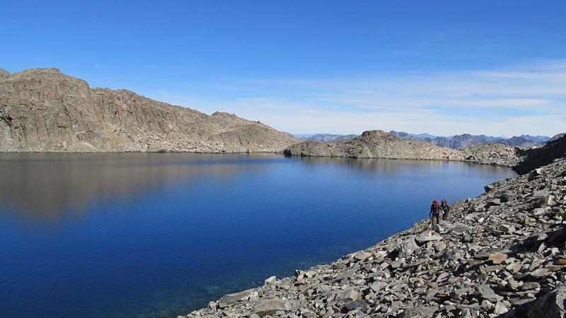 Lake at 1850m.