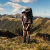 James on the Arthur Range near Mt Patriarch.