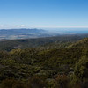 Looking into the Aorere Valley and toward Farewell Spit.
