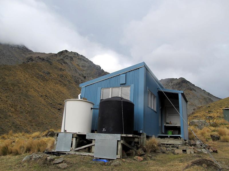 Tararua Hut.