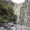 Kahutara canyon below the biv.