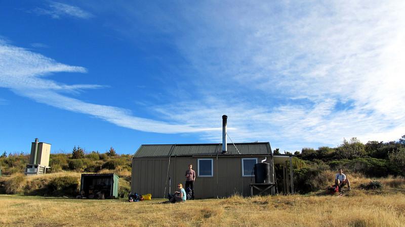 Mt Fyffe Hut.