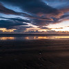 Stormy sunrise over Marfells Beach where we camped on the Friday night.