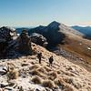 The ridge to Mt Fell.