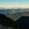 The Kaikoura Range from near Mt Richmond.