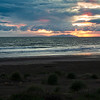 Stormy sunrise over the North Island seen from Marfells Beach.