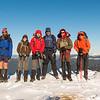 Mt Richmond summit team.