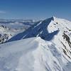 On the subsidary peak of Snowflake looking towards Snowflake.