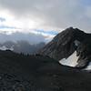 The campsite below Kaitiaki Peak.