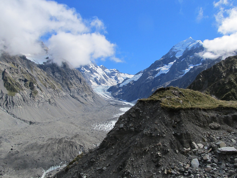 Mt Cook above the Hooker Valley.