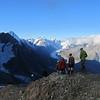 Descending Kaitiaki Peak.