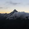 Mt Sefton at dusk.