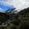 Mt Cook from the Hooker Valley.
