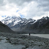 Getting around Hooker Lake.