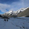 Looking back down towards Mt Cook.