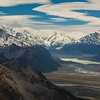 De La Beche, Mt Cook, the Tasman lake and Mt Chudleigh.
